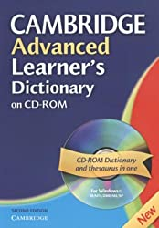 Cambridge Advanced Learner's Dictionary CD ROM (Cambridge Advanced Learner's Dictionary) (WIN NT, 2000, ME, XP) by CD-ROM (2005-04-07)