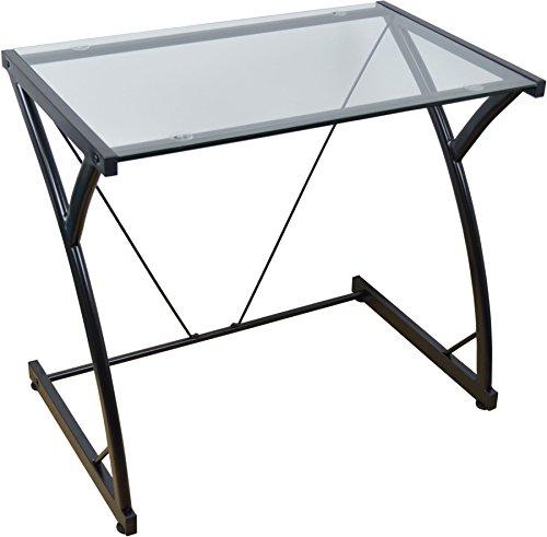 Ordenador portátil de cristal mesa- Negro