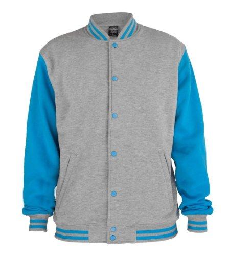 Urban Classics Herren Jacke grey-turquoise