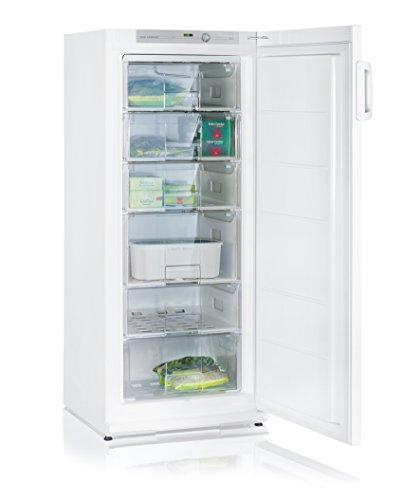 SEVERIN KS 9759 Hochgefrierschrank (196 L, Energieeffizienzklasse A++) weiß