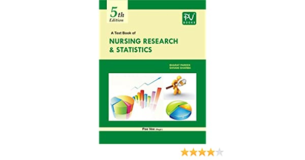 Buy PV TEXTBOOK OF NURSING RESEARCH AND STATISTICS B SC (N) 4TH YEAR