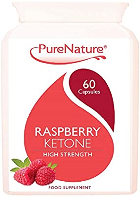 Raspberry Ketone 100% Highly Concentrated 12000mg Daily Serving UK's MAXIMUM Strength to Support Diet Slimming and Body Toning Suitable for Vegetarians - FREE UK Delivery from Distributed By Be-Beautiful-Online