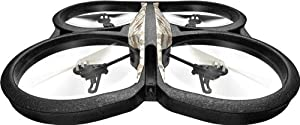 AR.Drone Parrot 2.0 Elite Edition in Sand with GPS Flight Recorder by Parrot