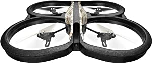 AR.Drone Parrot 2.0 Elite Edition in Sand with GPS Flight Recorder