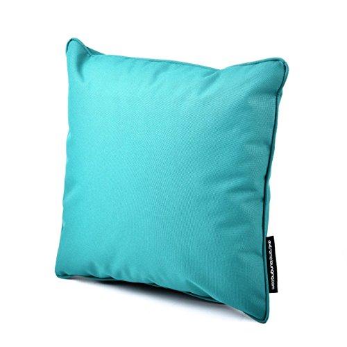 Outdoor Kissen: Extreme Lounging b-cushion Aqua passend zu b-Bag Sitzsack. Outdoor Kissen wasserabweisend wetterfest | Garten > Gartenmöbel > Outdoor-Sitzsäcke | B-bag
