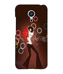 PrintVisa Designer Back Case Cover for Meizu MX5 (Love Lovely Attitude Men Man Manly)