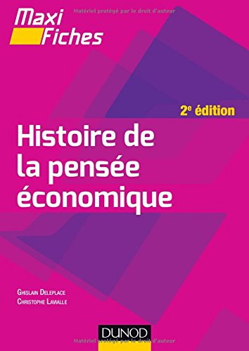 Maxi fiches - Histoire de la pensée économique - 2e éd.