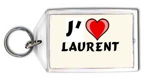 J'aime Laurent Porte Clé (Noms/Prénoms)