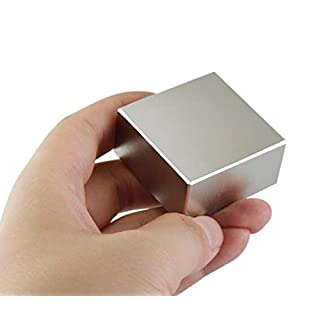 AOMAG® Strong N52 Rectangular Neodymium Magnets 40 x 40 x 20mm
