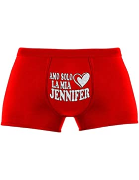 Regali originali per uomo | Amo solo la mia Jennifer | Compleanno |Natale | Regalo di Natale