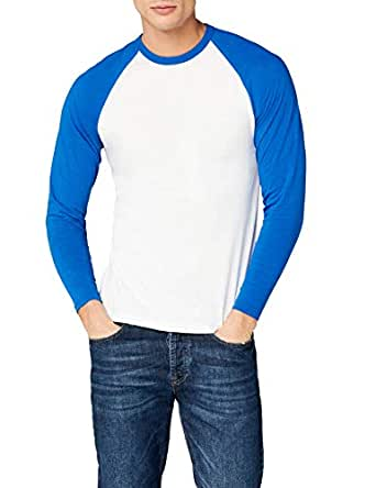 Fotl Long Sleeve Baseball Tee - Top de sport - Homme  Amazon.fr ... e742257d8a0b