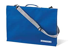 Staedtler LR 661 13 Zeichenplattentasche mit Griff, DIN A3, wasserabweisend, strapazierfähiges Nylon, verstellbarer Schultergurt, integrierte Handytasche