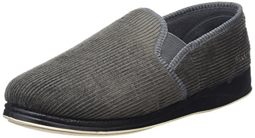 Padders Albert, Chaussons homme Gris - Gris