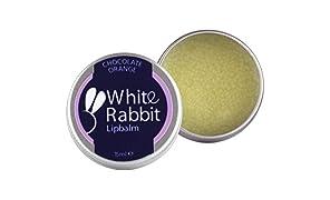 White Rabbit Skincare Chocolate Orange Lipbalm