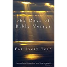 365 Days of Bible Verses: For Every Year (English Edition)
