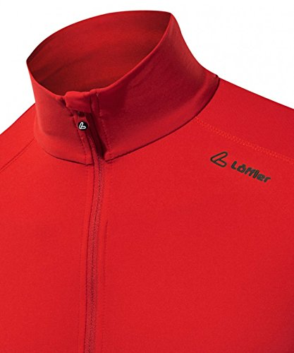 Löffler Termici Scamosciato Pullover ROSSO 15051551 Taglie: M rosso