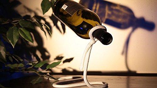 Geschenk/Deko Flaschenhalter - Schwebende Weinflasche, Faszinierende Dekoration für Jede Wohnung,...