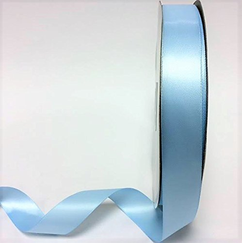 2-metres-of-25mm-wide-double-faced-satin-ribbon-choose-from-23-colours-pale-blue