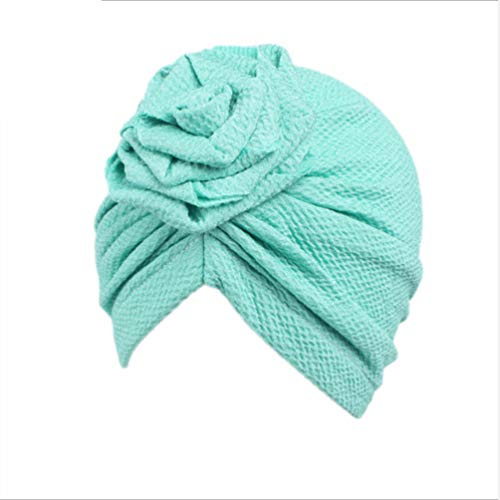 KYMLL Babymützen Baby Turban Kleinkind Kinder Junge Mädchen Rose Hut Schöne weiche Hut