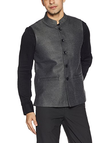 Fort Collins Men's Nehru Jacket (92850a OLBlackM)