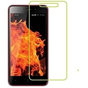 SNOOGG PACK OF 5 LYF Flame 4 Branded Ultra Clear Perfect Fitting Mobile Screen Guard Screen Protector
