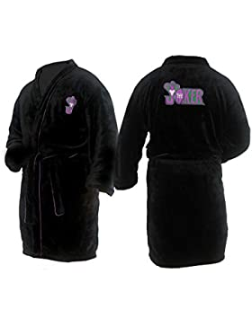 u-wear Mens Joker Bathrobe Bata de baño
