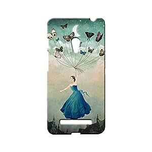 BLUEDIO Designer Printed Back case cover for Asus Zenfone 5 - G5880