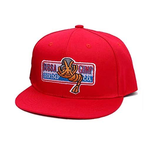 �dchen-Baseball-Mütze Forrest Gump Kostüm Gestickte Snapback Unisex Caps Für Sport ()