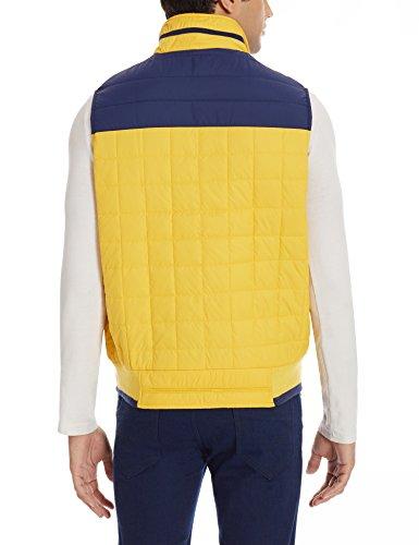 Duke Men's Synthetic Gilet (8907289697490_SDZ198_XX-Large_Yellow)