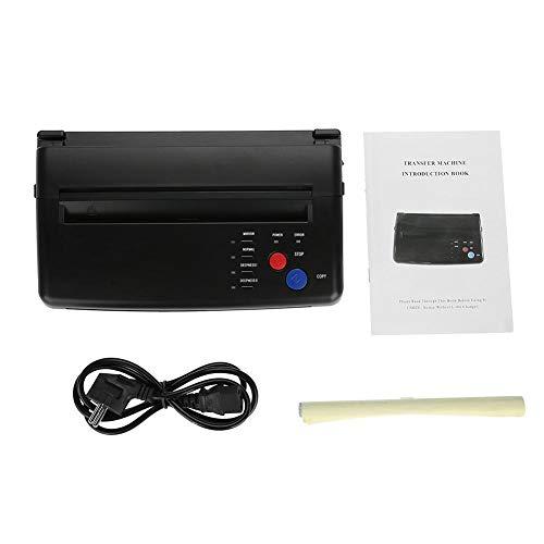 Zwei Arten Thermokopierer-Drucker-Maschine mit tragbarer A5 A4-Papiertätowierungs-Transferschablone(EU Plug+220v)