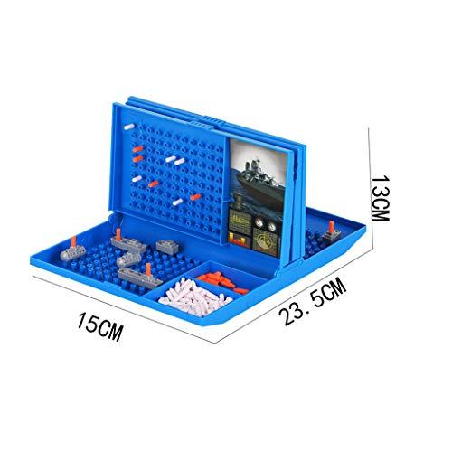 hahuha Toy Klassisches Schlachtschiff Spiel Strategie Brettspiel Seeschlacht Spielzeug Retro-Serie für Kinder
