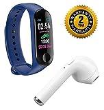 BYLKO M3 Sweatproof Smart Fitness Bluetooth Wrist Band with Heart Rate,Sensor, Sleep-Monitoring