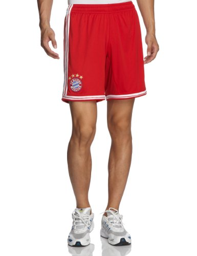 adidas Herren Kurze Hose FC Bayern Home Shorts Fcb True Red/White, S