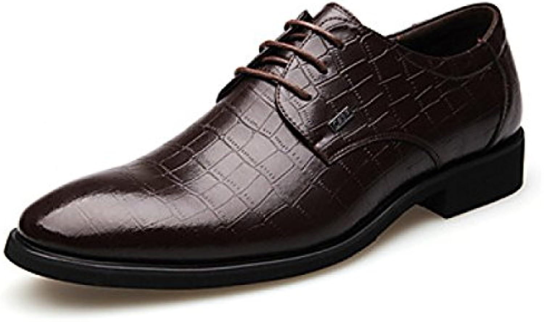 Zapatos De Hombre Oficina De Boda Career Party Evening Leather Oxfords  -