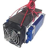 Fantasyworld Peltier termoeléctricas Neveras 12V 576W 6-Chip TEC1-12706 Bricolaje refrigeración de Aire de refrigeración del Dispositivo refrigerador termoeléctrico