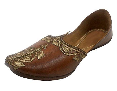 Step n Style Pakistani Punjabi Juti For Men Sherwani Mojari Handmade Jalsa...