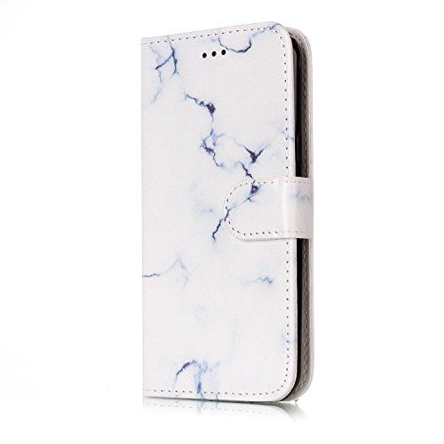 Für Samsung Galaxy J3 Horizontale Flip Case Cover Luxus Blume / Marmor Textur Premium PU Leder Brieftasche Fall mit Magnetverschluss & Halter & Card Cash Slots ( Color : H ) F