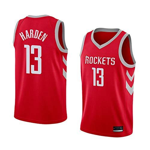K&P Sports Maillot James Harden Houston Rockets Rouge, Maillot James Harden Icon Édition Swingman (Rouge, M)