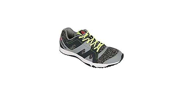 Reebok Men Run Essence Gray Running Shoes  Buy Online at Low Prices in  India - Amazon.in 43e8cd6b9