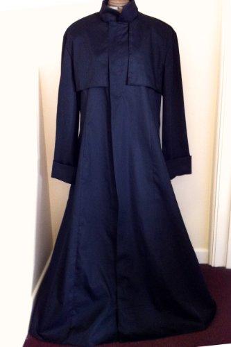 NEU. XL schwarz Baumwolle Bohrer Duster Coat Matrix/Neo/Morpheus Style Kostüm/Mantel (Neo Und Trinity Kostüme)