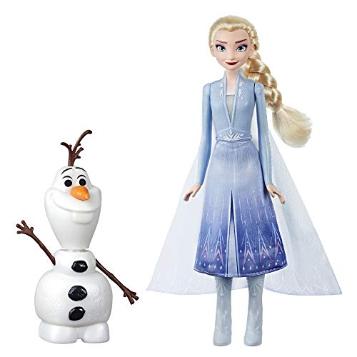 Disney Frozen- 2 Olaf and Elsa, Multicolor (Hasbro E5508EU4)