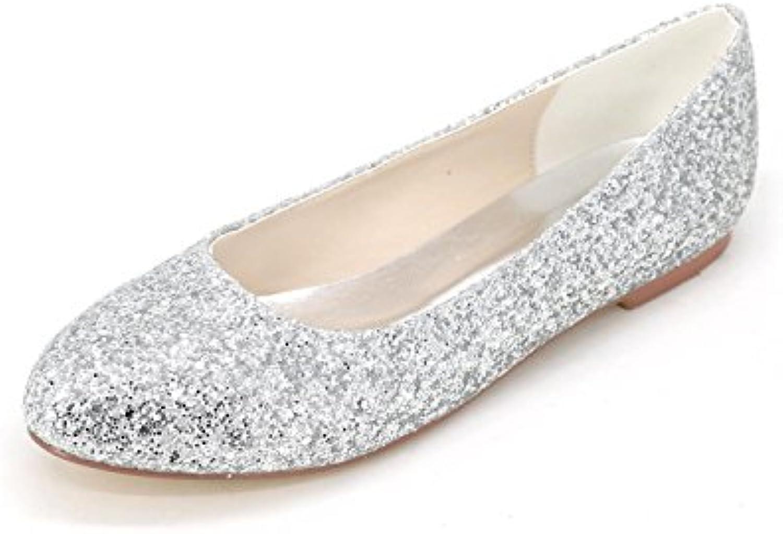Elegant Zapatos De Mujer alto SatéN Superior Medio Carrete TalóN Cerrado Dedo Del Pie Carrete Bombas De TacóN... -