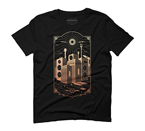 sound-city-mens-small-black-graphic-t-shirt-design-by-humans