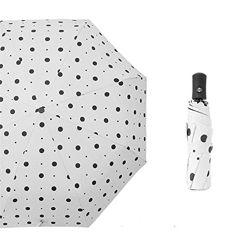Mini Parapluie de Soleil - Parapluie de Poche & Parapluie de Voyage & Parapluie Pliant,Ultra Léger Mode Trois Couleurs de Parapluie de Dessin animé entièrement automatique21 97cm
