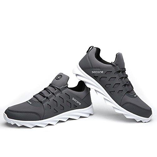 Aleader  Performance, Chaussures de running pour homme Gris