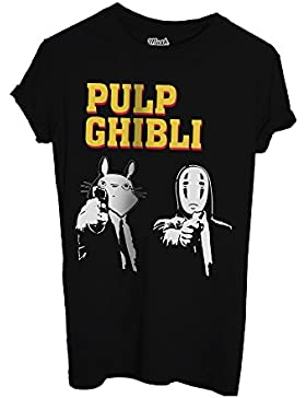 MUSH T-Shirt Studio Ghibli Versione Pulp Fiction - Film by Dress Your Style