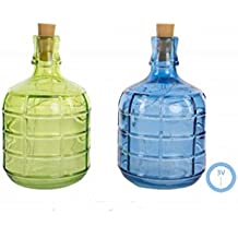 Hogar y Mas Botella 6 led Cristal Reflectante - Verde