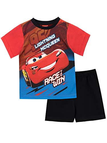 Disney Jungen Cars Schlafanzug Rot 92