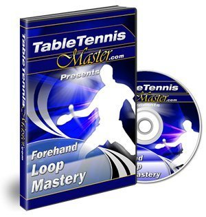 Table Tennis Master - Forehand Loop Mastery DVD - Training Program with Chinese Master Coach Tao Li Loop Table