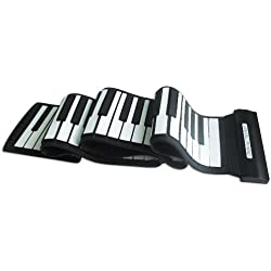 Piano Teclado Enrollable Flexible Roll Up - Express Panda®